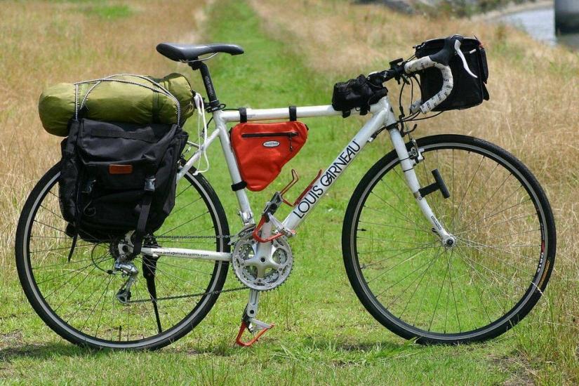 自転車の 自転車 旅 クロス ロード : ライフ 【キャリア】ロード ...
