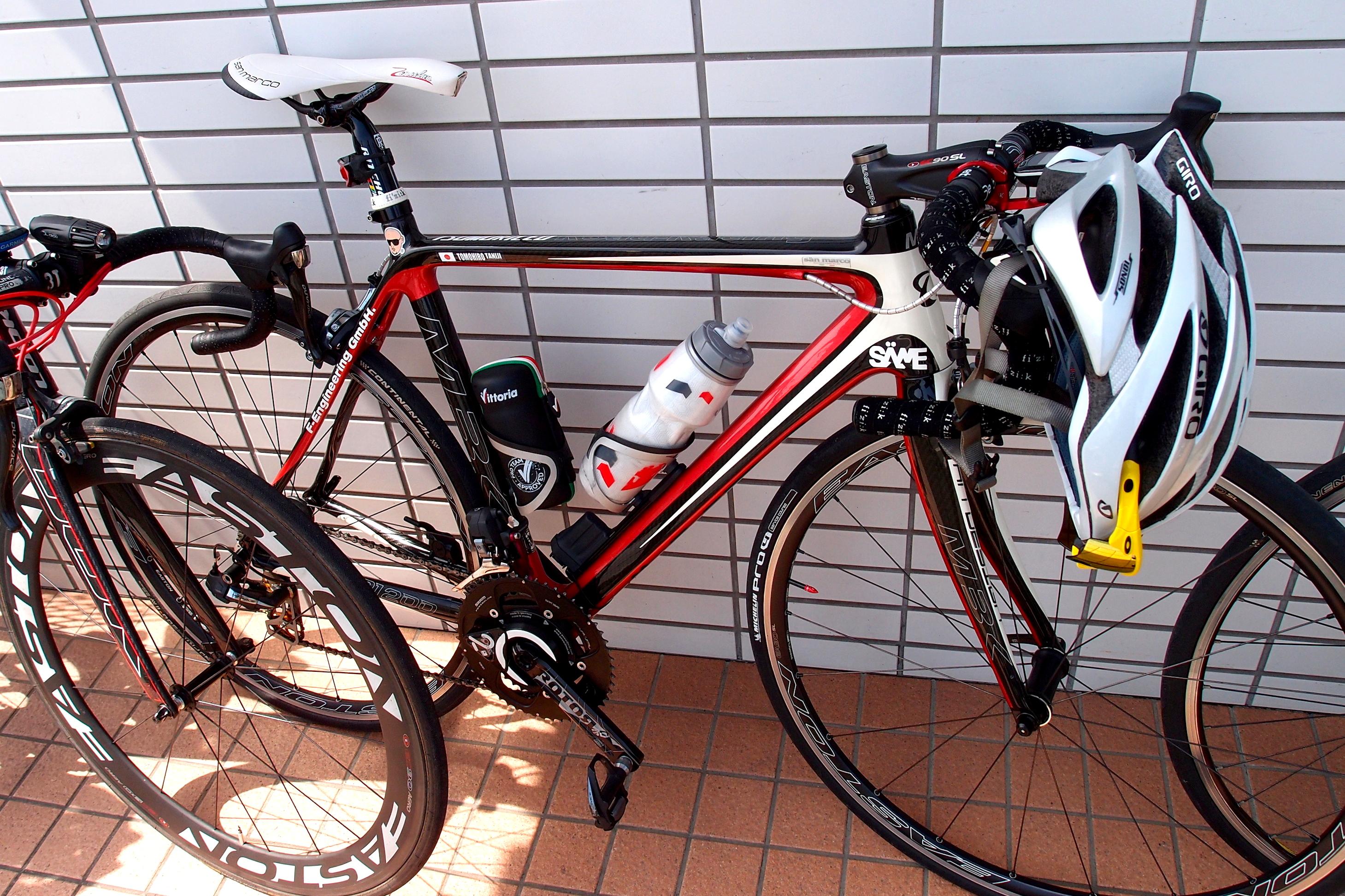 ... 自転車琵琶湖一周オフ ~機材