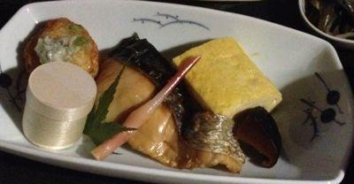厚焼き卵・紅鮭など