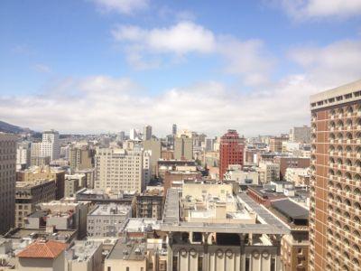サンフランシスコ市内の風景
