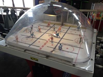 アイスホッケーのゲーム