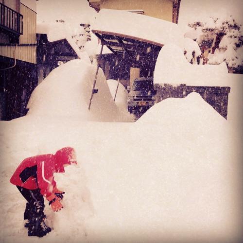 2014冬雪かき