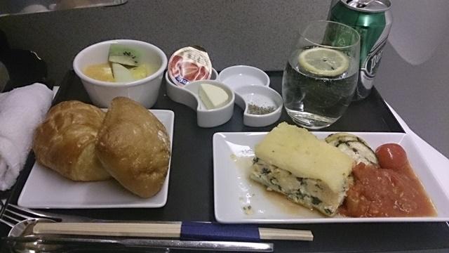復路機内食8