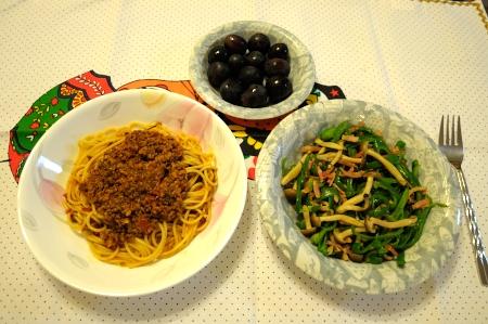 スパゲティーミートソース♪