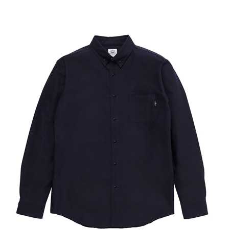 SH05 BASIC OX BD L SHIRTS NVY_R