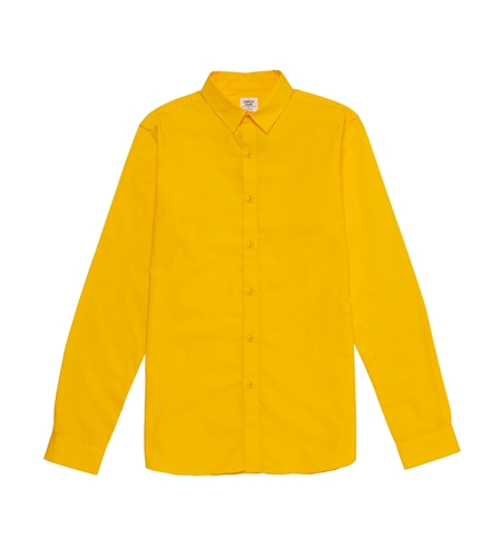 COLORED BROADCLOTH SHIRTS YELLOW_R