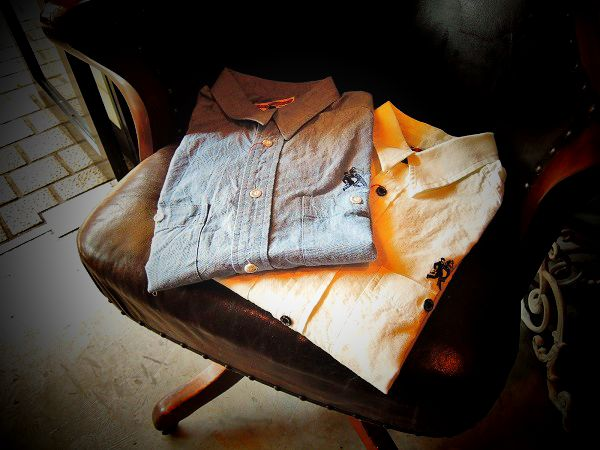 BAD QUENTIN CHAMBRAY SHIRTS  (1)