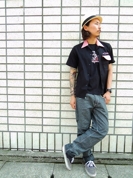 O.C CREW SVG 2TONE OPEN SHIRTS (3)
