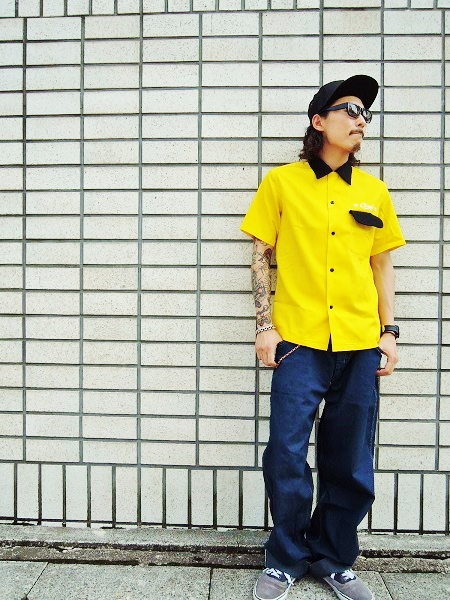 O.C CREW SVG 2TONE OPEN SHIRTS (1)