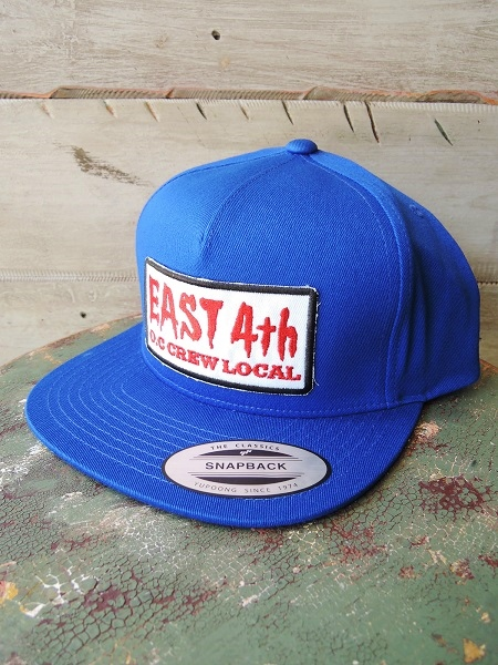 O.C CREW East4th COTTON SNAPBACK (1)