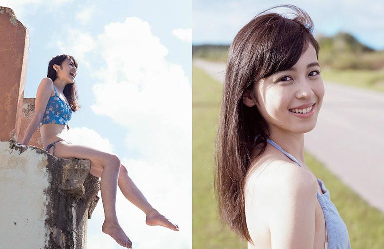 久慈暁子 ナチュラル透明感な水着グラビア | えっちなお姉さん。