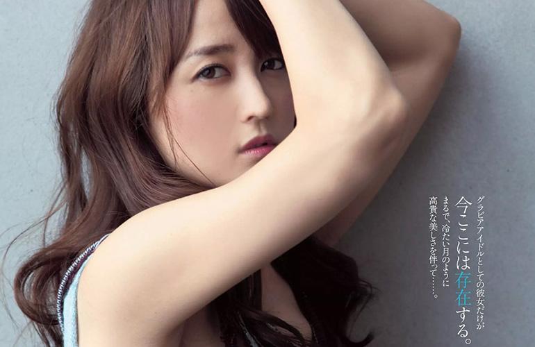 小松彩夏 水色の熱 | えっちなお姉さん。