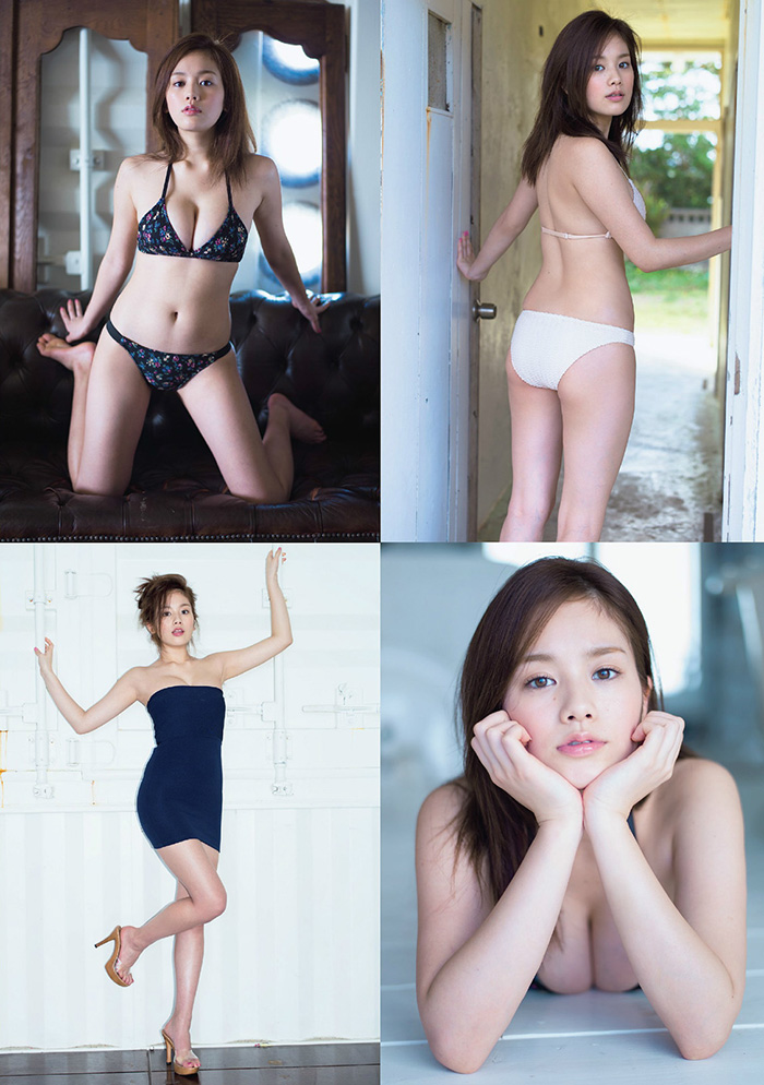 筧美和子 巨乳がこぼれそうな水着グラビア | えっちなお姉さん。