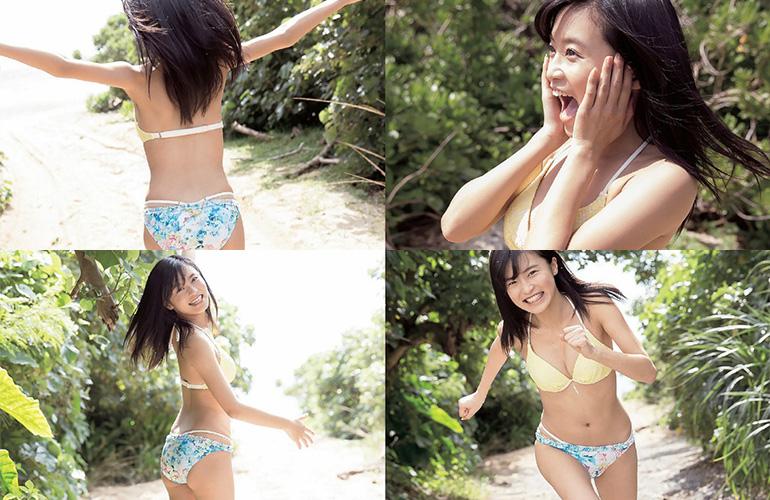 小島瑠璃子 小麦色の肌と超絶スマイル | えっちなお姉さん。
