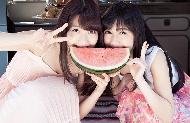 渡辺麻友 × 柏木由紀 アイドルを楽しんでるふたり | えっちなお姉さん。