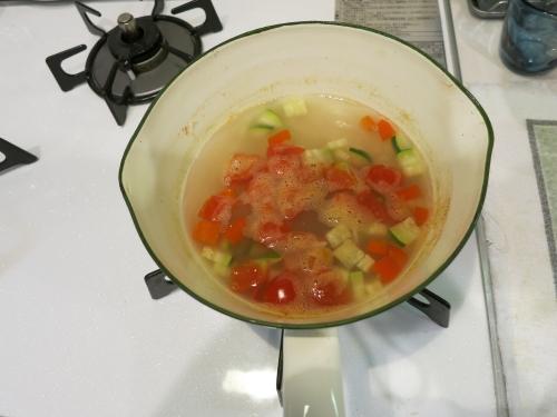 玄米リゾット鍋