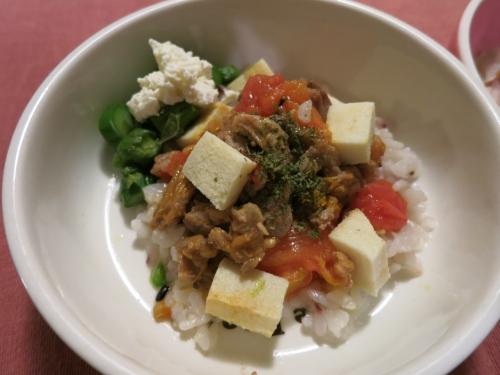 夜ご飯 スペアリブのトマト煮