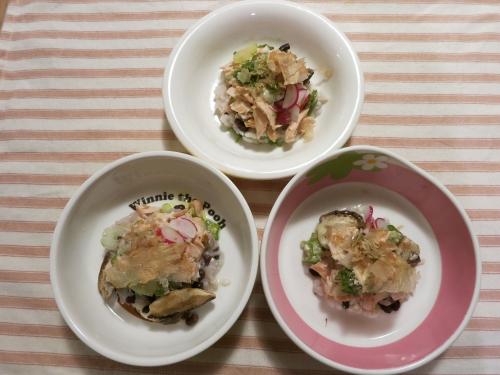 夜ご飯 生鮭のホイール焼き