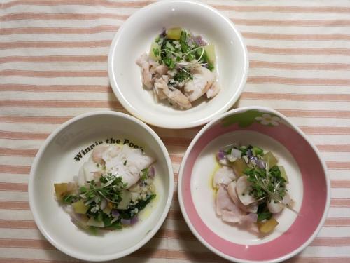 夜ご飯 生鱈とタラ雑炊