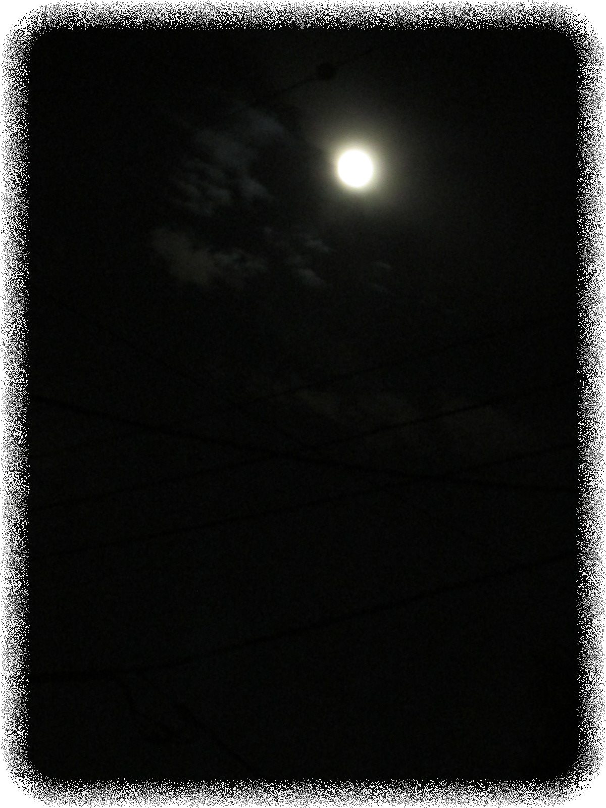 お月様パワー