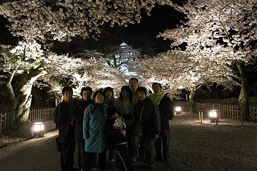 恒例夜桜ツアー058
