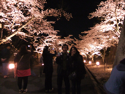 恒例夜桜ツアー059