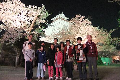 恒例夜桜ツアー060