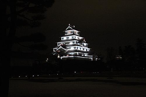 鶴ヶ城プロジェクションマッピング0011