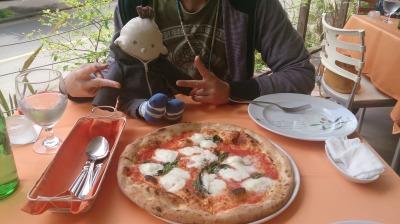 クレマチスのピザ