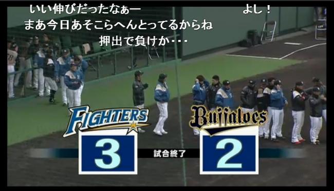 オリックス・バファローズ vs 北海道日本ハムファイターズ オープン戦 - 2014 03 09 12 30開始 - ニコニコ生放送 (1)