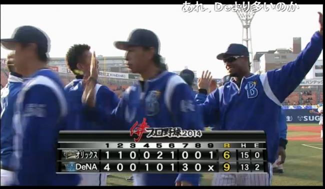 横浜DeNAベイスターズ vs オリックス・バファローズ オープン戦 - 2014 03 16 13 00開始 - ニコニコ生放送 (2)