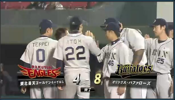 2014年05月14日 東北楽天 vs オリックス プロ野球速報・ライブ中継 パ・リーグTV