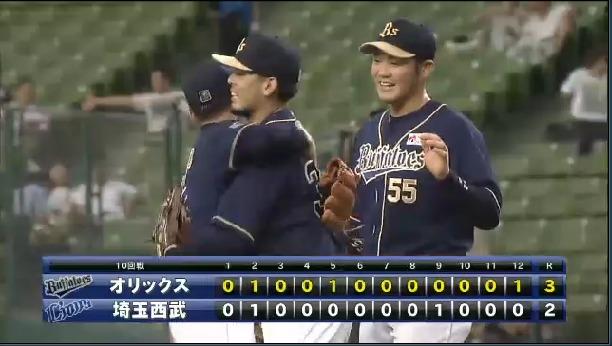 2014年07月12日 埼玉西武 vs オリックス プロ野球速報・ライブ中継 パ・リーグTV (1)