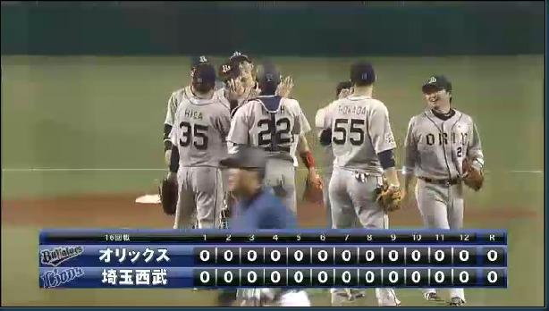 2014年08月13日 埼玉西武 vs オリックス プロ野球速報・ライブ中継 パ・リーグTV