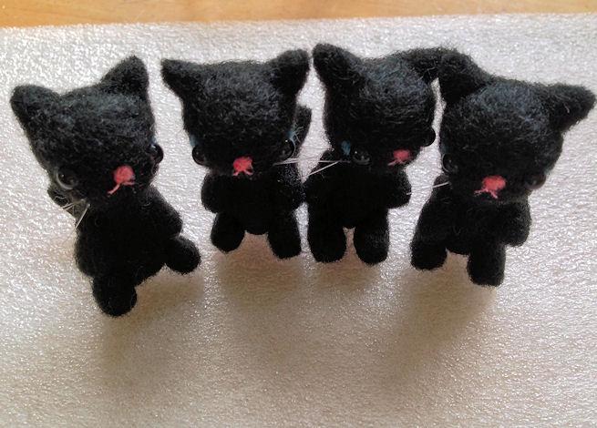 羊毛猫黒2