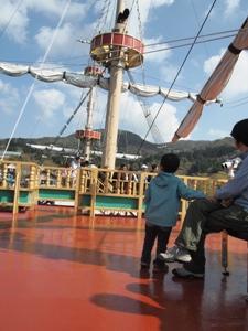 P5025102海賊船で