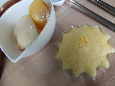 20140628柚子蒸しパン桃