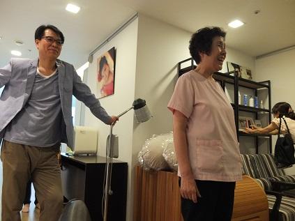 20140710 アモリウム 医院長と助産婦さん
