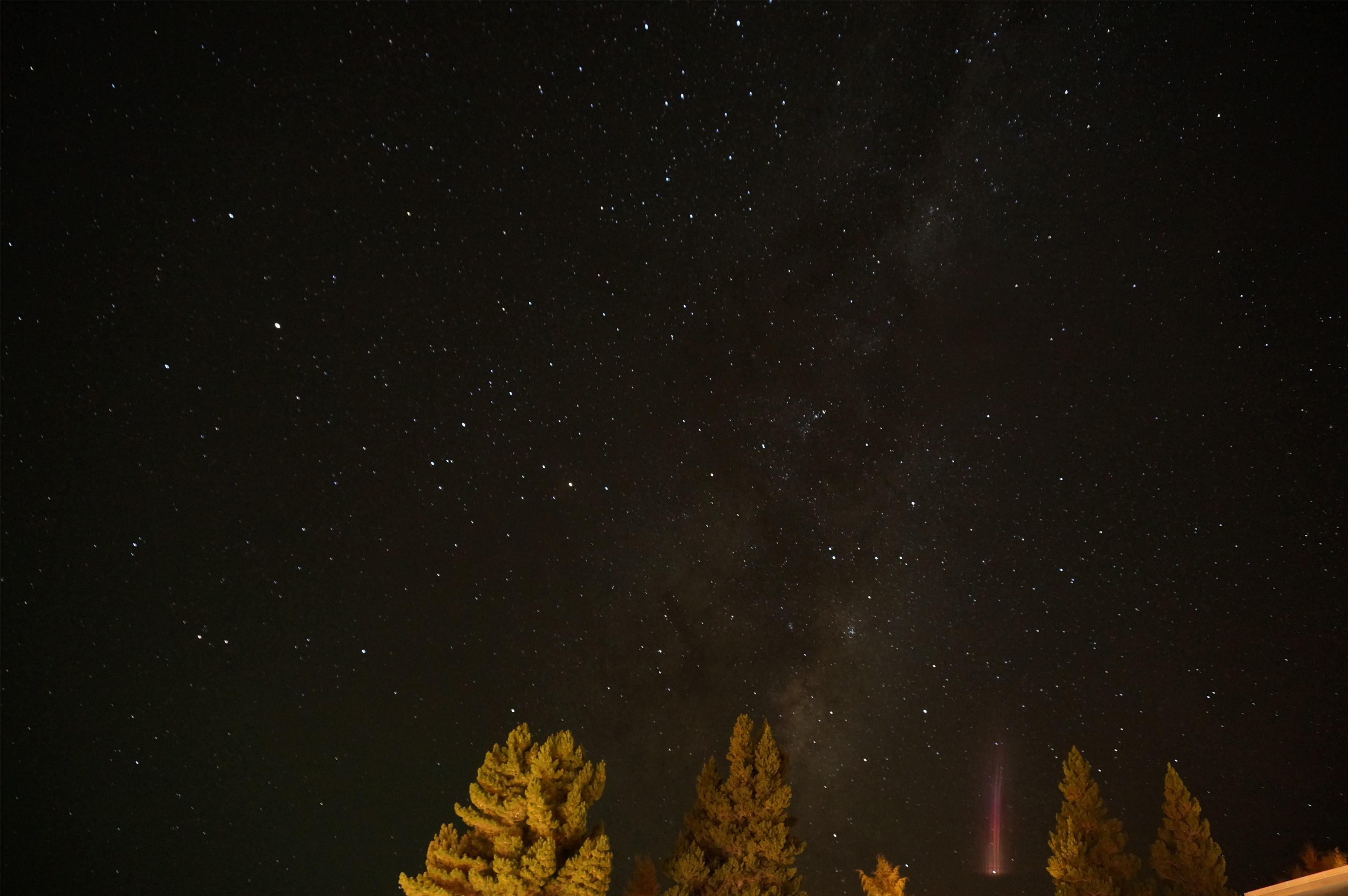 ソニーα NEX-5Rで星空撮影