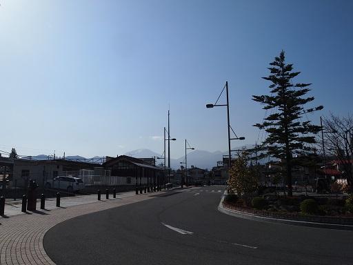 JR今市駅前