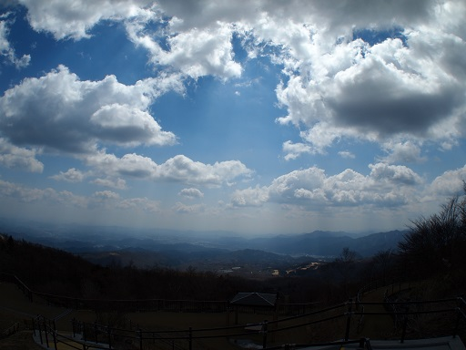 霧降高原下界遠景標高1335m