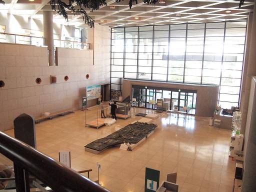 栃木県立博物館エントランス