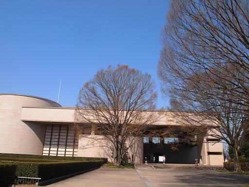 栃木県立博物館全景