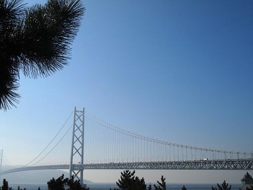舞子ビラから明石大橋