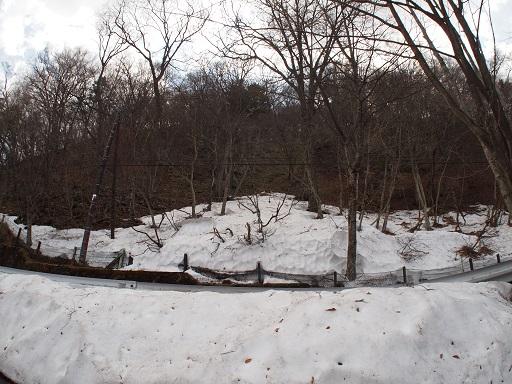 中禅寺湖残雪