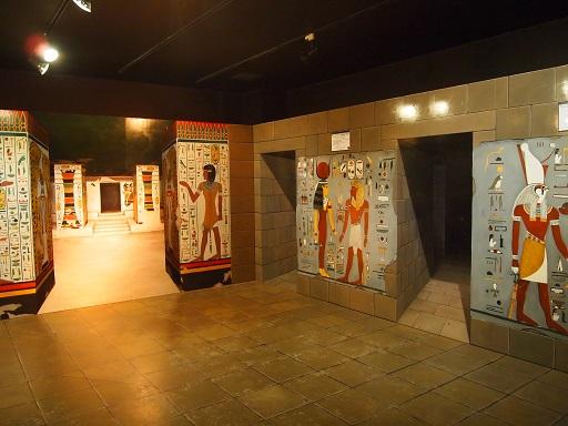 トリックアートエジプトの部屋
