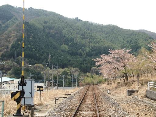 足尾銅山わたらせ渓谷鉄道線路