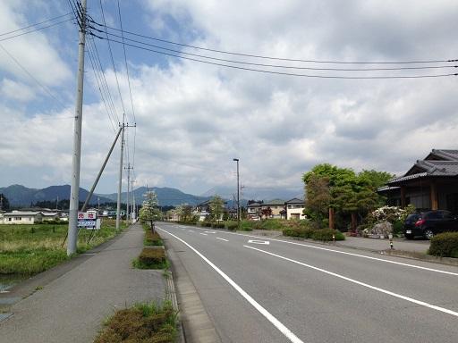 ランニング道路