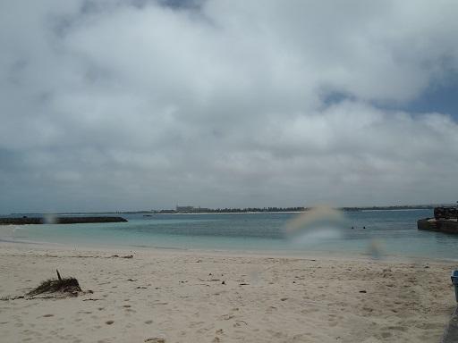 20130714クリマビーチ台風名残