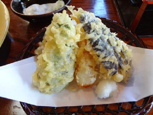 小代行川庵野菜天ぷら